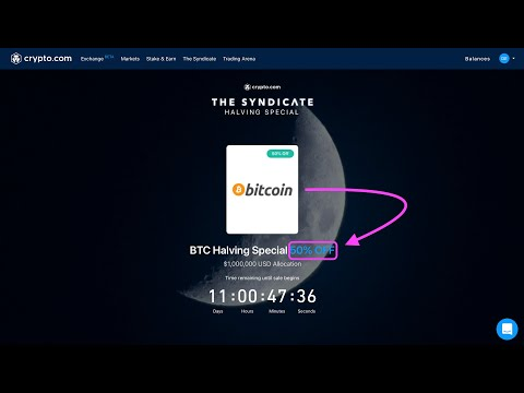 Bitcoin 50% Discount on May 12th 2020 - Legit or Scam? How to Participate?