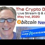 CryptoDad's Live Q. & A. April 24th, 2020 Bitcoin News
