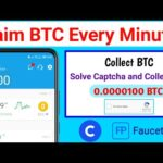 Claim BTC Every minute, new biggest Bitcoin Mining sites, New bitcoin Earning site, claim BTC