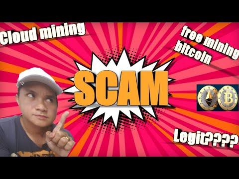 Mga cloud mining website na SCAM!!!