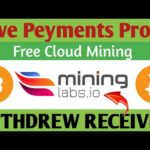 Free Bitcoin Earn Mininglabs.io Withdraw Proof | Receiving Share Free bitcoin Mining Site Legit 2020