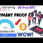 Payment Proof - Mining Labs I Free Bitcoin Mining Site 2020 I Earn 0.001 BTC Daily I Live Proof