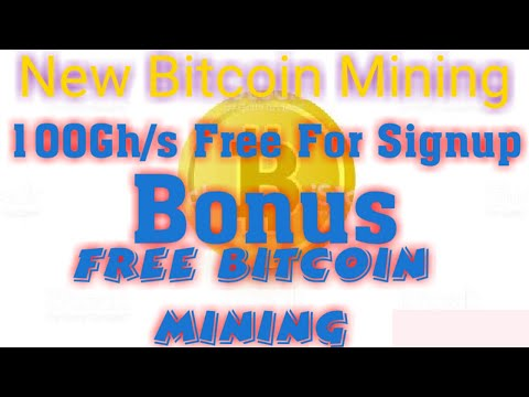 New Free Bitcoin MIning With 100ghs Free  || FREE BITCOIN MINING  ||