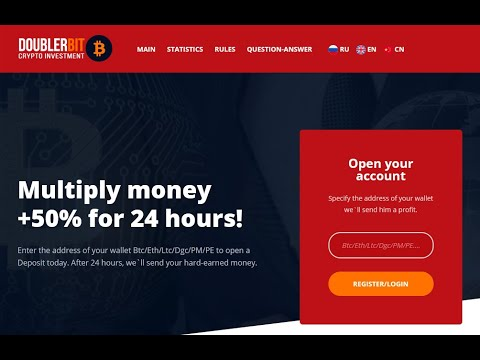 Doublerbit New Double Bitcoin Mining Sites Daily 150% profit Sites
