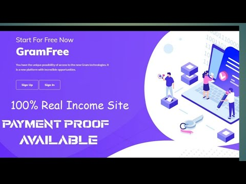 online jobs | Gram Free | Earn BitCoin USD | No Investment • Money earnings