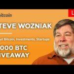 🔴 Steve Wozniak interview: Blockchain technology, AI, Crypto, Bitcoin BTC Halving 2020