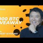 🔴 Robert Kiyosaki Live: Blockchain technology, Future of Crypto, Bitcoin BTC Halving