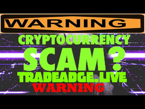 Tradeadge Cryptocurrency Bitcoin Scam 2020