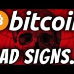 MUST SEE!!! 3 BAD SIGNS FOR BITCOIN...