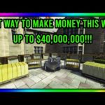 GTA 5 Online – BEST WAYS TO MAKE MONEY THIS WEEK!! MONEY MAKING RATING 10/10!!!!