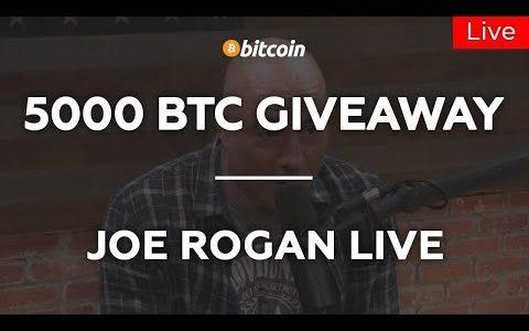 Joe Rogan Live Podcast: Blockchain, Bitcoin Halving, BTC 2020, Crypto