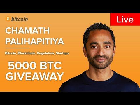 Chamath Palihapitiya Live: Bitcoin Halving, BTC Updates, Price and Mining