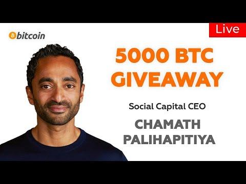 Chamath Palihapitiya interview: Bitcoin Halving, Tesla Stock, BTC 2020, Crisis News