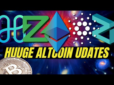 HUGE CRYPTOCURRENCY NEWS! Bitcoin, Ethereum 2.0, Zcoin, Cardano Shelley, Harmony Protocol, Zilliqa