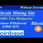 Bitcoin Mining Site | 300 GH/s Free Hashpower | Minimum Withdrawal 0.0002 BTC | Onex.Cloud |