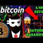 BITCOIN SELL-OFF!!? HIDDEN 6,400% SETUP!!! 🚀 BTC MOVED FROM SATOSHI WALLET?! 😱
