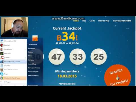 The Hidden Internet- Bit Ball Lottery, Bitcoin Fog & Block Chain