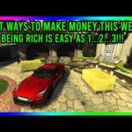 GTA 5 Online - BEST WAYS TO MAKE MONEY THIS WEEK!! MONEY MAKING RATING 9/10!!!!