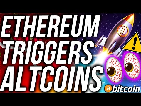ETHEREUM TO TRIGGER ALTCOIN RALLY!?! BITCOIN PRICE CRASH?! BEST ALTCOINS! CRYPTO NEWS!!!