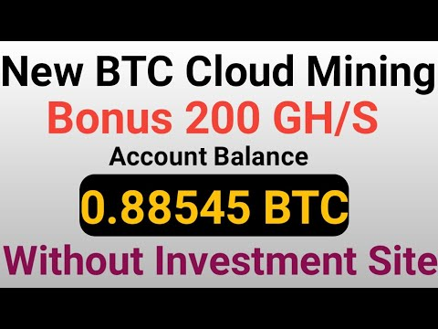 New Free Bitcoin Mining Sites 2020 | 0.008 BTC Earn Without Investment | Best BTC Cloud Mining Site