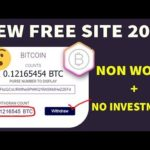 New Bitcoin Mining Site NON Investment + NO Work Don't Miss ?
