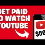 Earn $50 PER HOUR WATCHING VIDEOS! [Make Money Online]