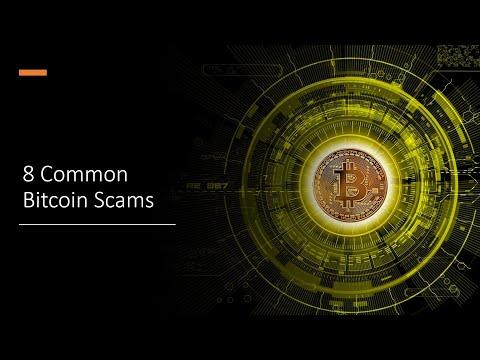 8 Common Bitcoin Scams