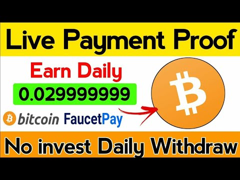 New Free Bitcoin Mining Website Payment proof   Fast Bitcoin Earning Website 2020