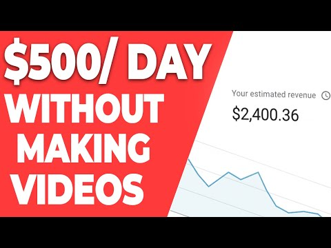 Earn $500+ Per Day Posting Compilations on YouTube - Make Money Online