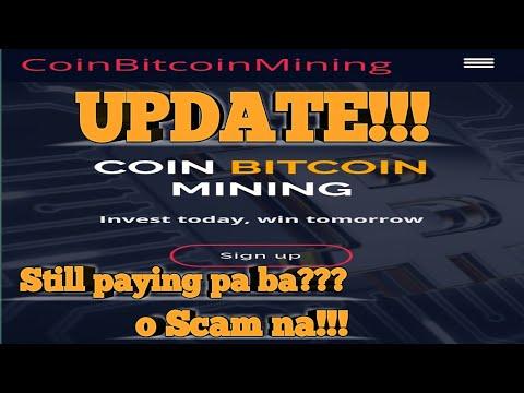 Coin Bitcoin Mining | CoinBitcoinMining Update | still paying o scam na!!!