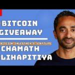 Chamath Palihapitiya: Tech news, Stock Market, Bitcoin Halving