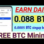 Free Bitcoin Miner   new Bitcoin Mining site   new earning site 2020    Earn money
