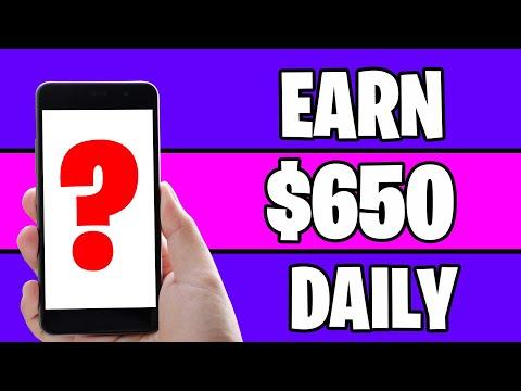 Make $650 PER DAY For FREE *New Website* [Make Money Online]