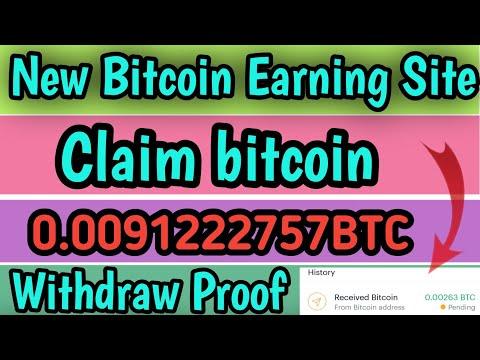 New claim bitcoin site, New BTC Mining Site, New Bitcoin Mining Site, Free bitcoin miner