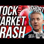 BREAKING! STOCK MARKET CRASH 2020! Time to SELL BITCOIN?! Financial & Crypto News
