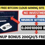 Loxmining.com || New Bitcoin Mining Site 2020 || Free Signup Bonus 200 GH/S || Minimum Withdrawal ||