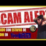 CUIDADO CON  ESTAFAS POR YOUTUBE DE BITCOIN - SCAM ALERT!!