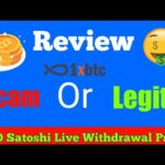 1xbtc free earn Bitcoin Site | Scam or Legit | 1000 Satoshi Live Withdrawal proof | Payout Faucetpay
