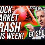 WARNING! SHORT THE STOCK MARKET!! Will BITCOIN BREAK $10,000?! Financial & Crypto News