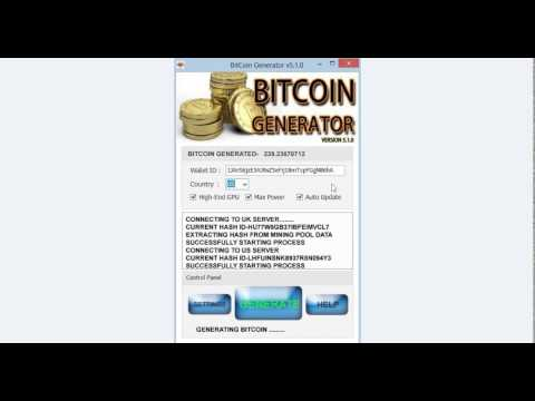 GENERATE BITCOINS FAST 25 BTC PER DAY ( VERY SIMPLE AND EASY WAY)