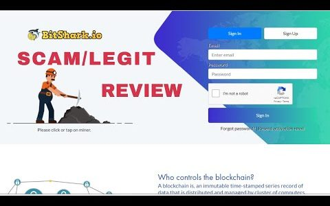 Bitshark.io Review Legit/Scam With Proof ? || New Bitcoin Mining Site Without Investment
