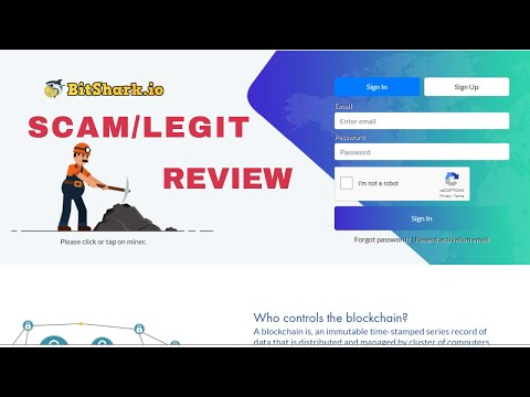 Bitshark.io Review Legit/Scam With Proof ?    New Bitcoin Mining Site Without Investment