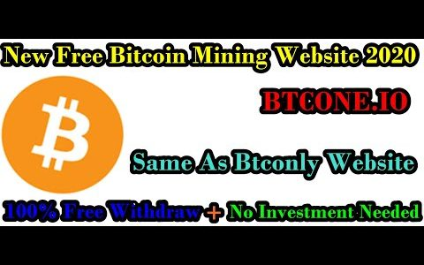 #New Bitcoin Mining Site Btcone.Co#Btcone.Co Full Review Scam or Legit#Btcone.Co No Investment Site