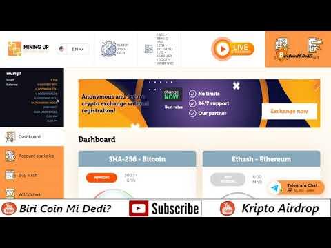 Mining-Up Dogecoin Musluğu ve Mining Yatırım Sistemi I Crypto Mining İncelemesi