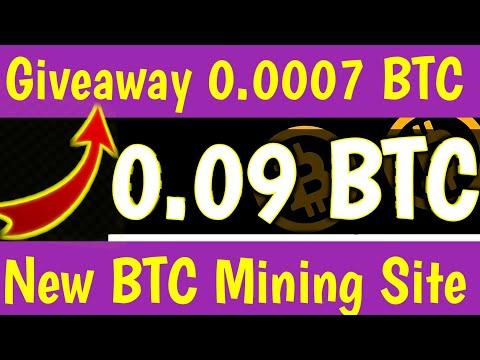 New Bitcoin Mining Site, Free Bitcoin Mining Site 2020, New BTC Mining Site 2020