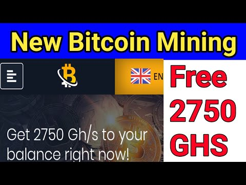 New Bitcoin mining website 2020 . Free 2750 Ghs . Minimum Withdraw 500 doge live