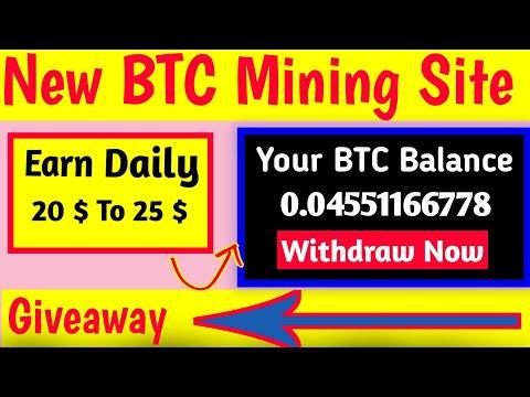 New BTC Mining Site | New Bitcoin Mining site | New mining site 2020