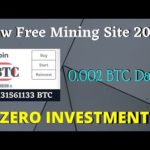 😍New Bitcoin Mining Site NON Investment + NO Work Don't Miss ?