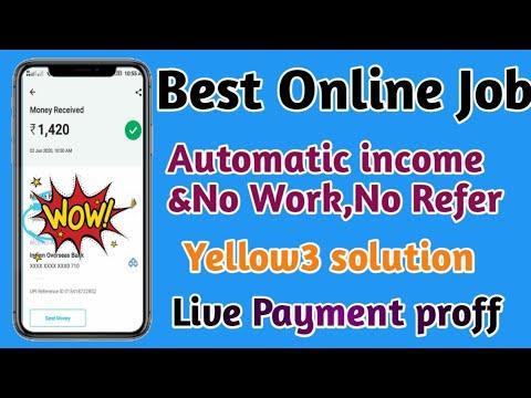 Best online job Yellow 3job payment proof ||Tamilearntricks||