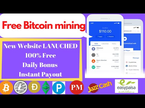 Make Money Online New Launched NON Investment Free Bitcoin Mining Site 2020 bestmining top